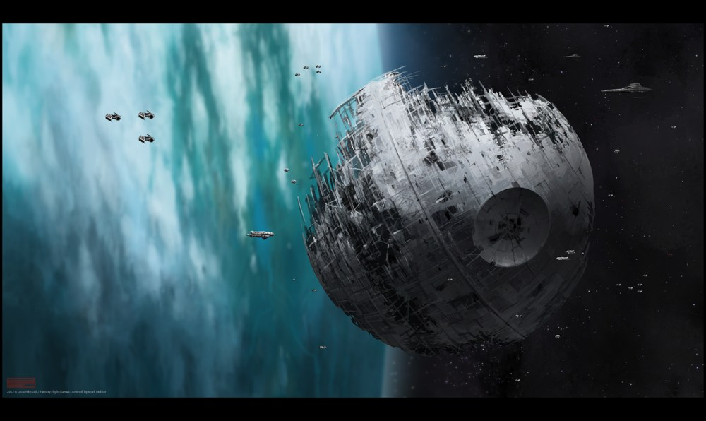 Star Wars Death Star 2 by Mark Molnar