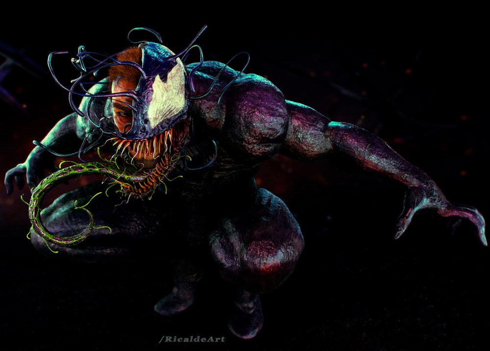 Venom Pepsicards Tribute by Angel Ricalde