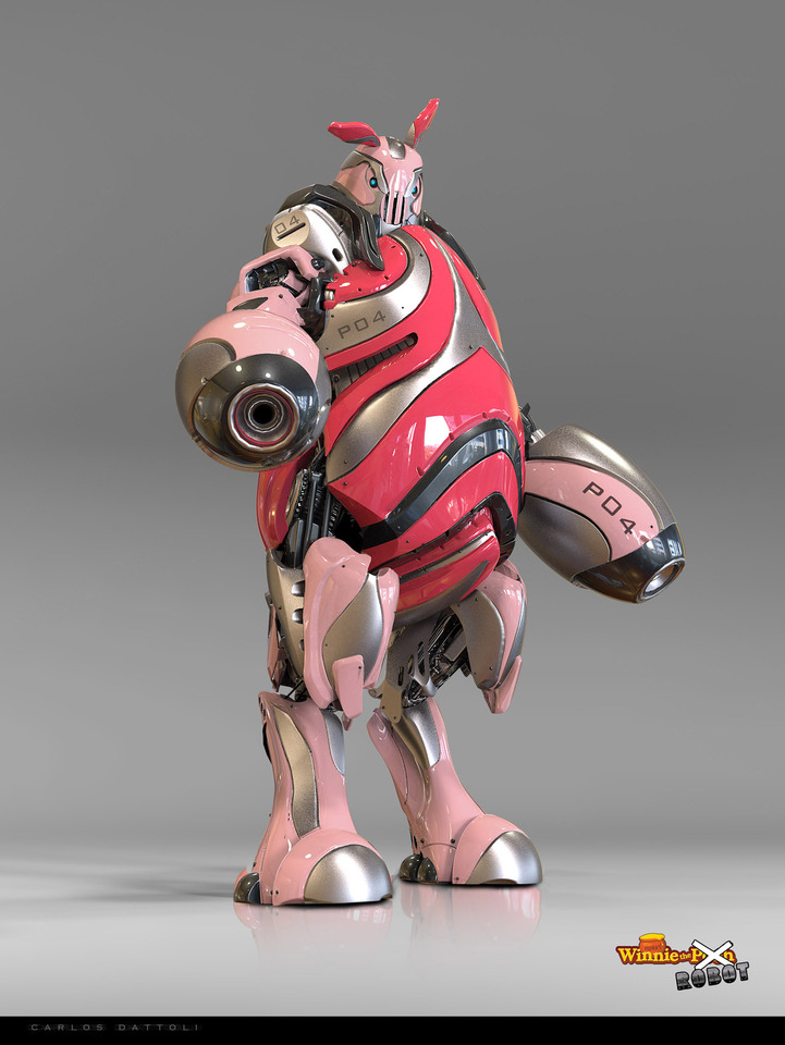 Piglet The Robot by Carlos Dattoli
