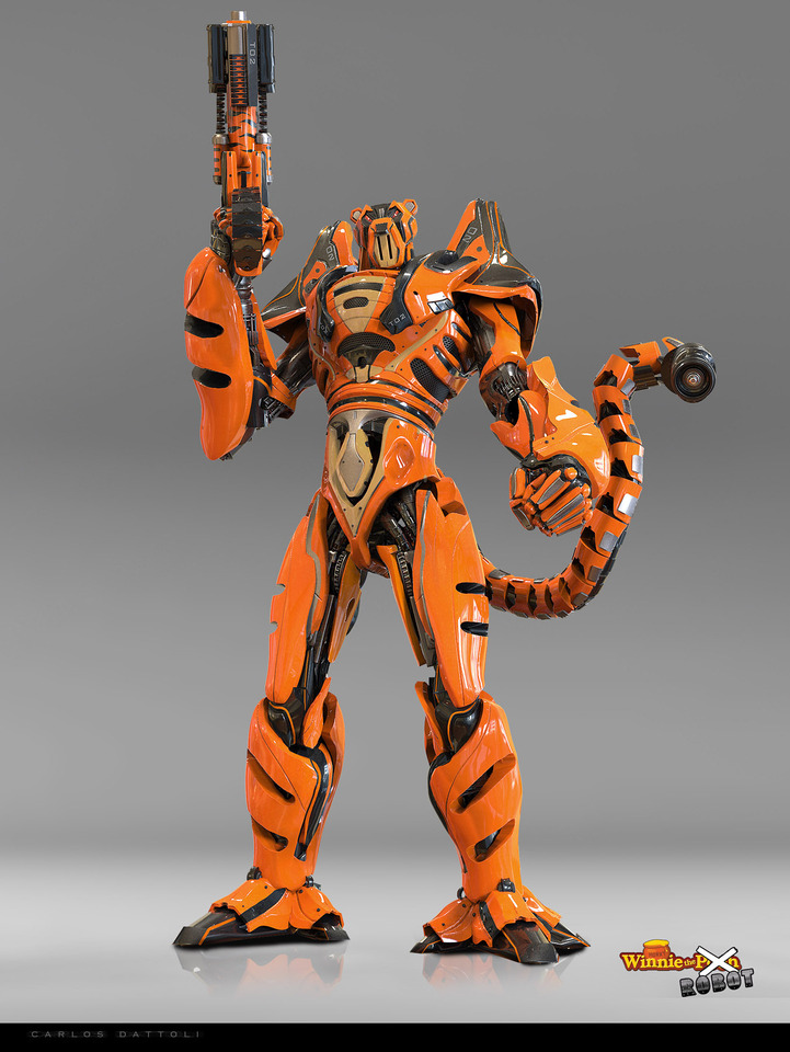 Tigger The Robot by Carlos Dattoli