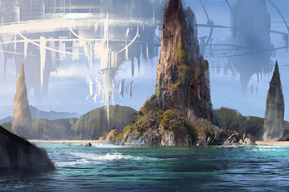 Island by Darek Zabrocki