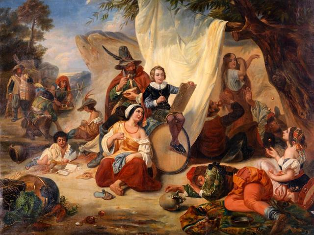 O_Ecole_française_du_XIXème_siècle_L'enfance_de_Jacques_Callot_chez_les_bohémiens.jpg