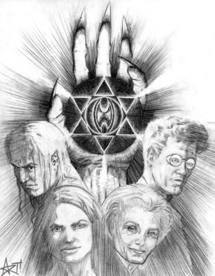 Poster concept sketch