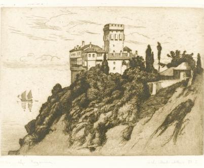 Kogevinas lykourgos_Le_mont_Athos