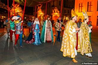 Korunovační slavnosti, Praha