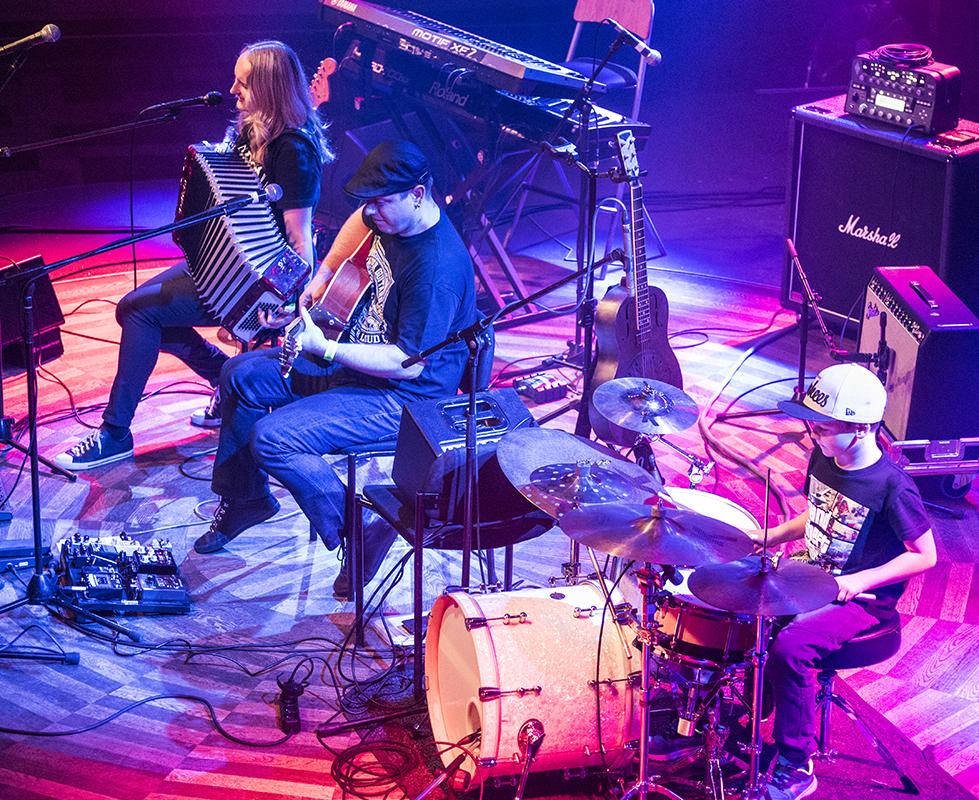 Trio Petry Börnerové, Lucerna Music Bar, foto Petr Šálek