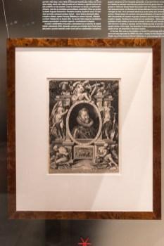 Uměleckoprůmyslové museum, portrét císaře Rudolfa ll, 1603