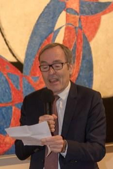 Ředitel Francouzského institutu v Praze Luc Lévy