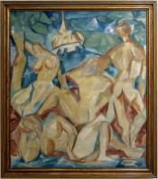 Muzeum umění Olomouc, výstava Rozlomená doba 1908 – 1928, Emil Filla, Jitro, 1911
