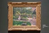 CAMILLE PISSARRO, Zahradní koutek v Éragny, 1897