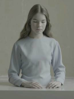 Michaël-Borremans,-The-Bread,-2012,-framed-19-LCD-screen---HD-video,-duration-ca