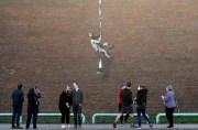 Banksy svým nejnovějším dílem podporuje vznik kulturního centra v městě  Reading