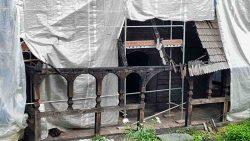 Rekonstrukce vyhořelého dřevěného kostela zKinské zahrady se chystá během dvou let