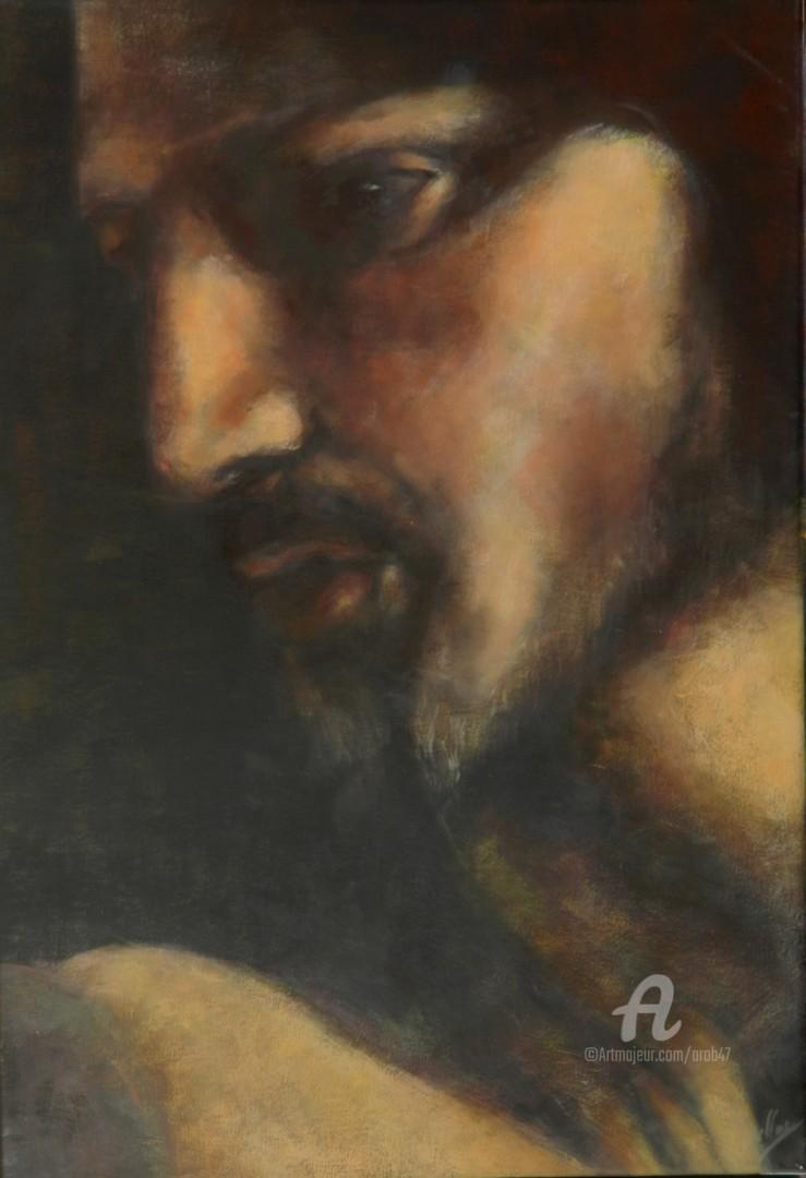 La Vocation De Saint Matthieu : vocation, saint, matthieu, Christ, ,détail, Vocation, Matthieu