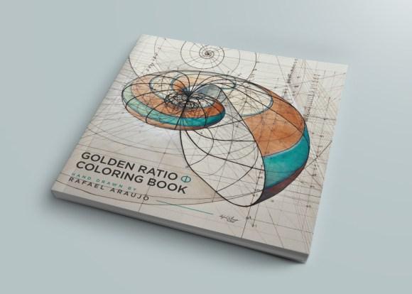 Golden ratio-coloring book