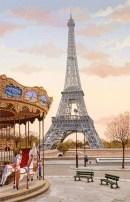 Kondakova Liudmila Carousel A La Tour Eiffel
