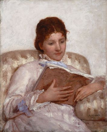 Mary Cassatt: Az olvasó, 1877
