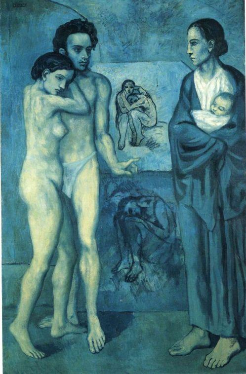 Pablo Picasso: La Vie (Az élet), 1903