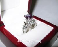 alexandrite engagement ring  Art Masters Jewelry ...