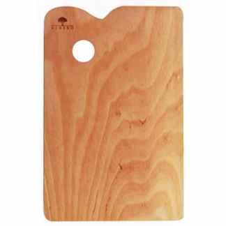 Палитра прямоугольная деревянная промасленная 30х40 см Albero Rosa