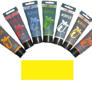 Акриловая краска 75 мл 022 желтая светлая Van Pure