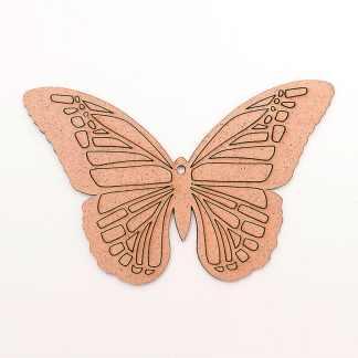 Заготовка деревянная Фигурка «Бабочка 4» 75х120х3 мм ДВП Rosa Talent