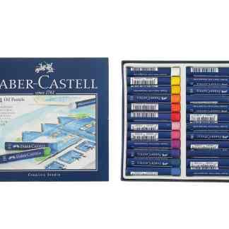 Набор масляной пастели Goldfaber 24 цвета Faber-Castell