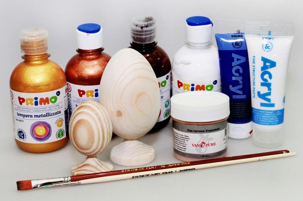 Мастер-класс по декорированию яйца «Фаберже» материалами Primo™ - 01