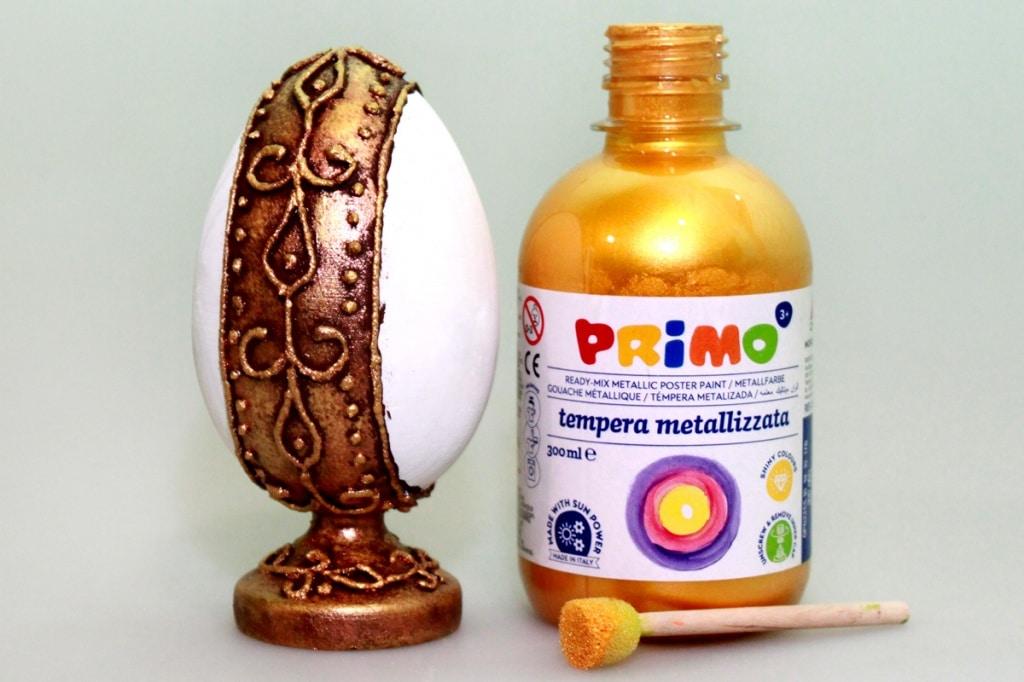 Мастер-класс по декорированию яйца «Фаберже» материалами Primo™ - 08