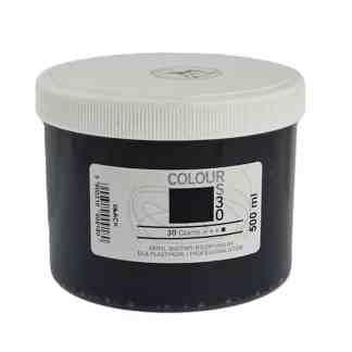 Акриловая краска Colour 30 Черный 500 мл Renesans Польша