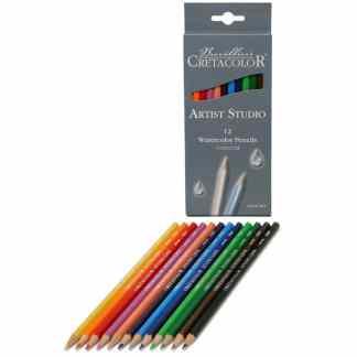 Набор акварельных карандашей Artist Studio 12 цветов в картонной коробке Cretacolor