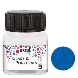 Краска по фарфору и керамике на водной основе KR-16217 Голубая 20 мл Hobby Line C.KREUL