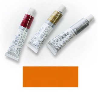 Акриловая краска Nail Art 12 мл 026 оранжево-желтая Van Pure