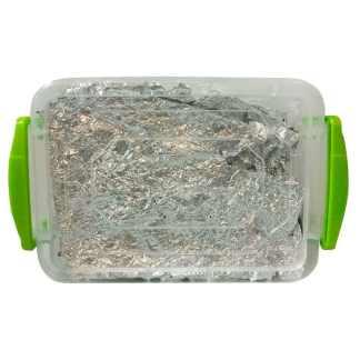 Поталь серебро декоративная мятая крупные куски 1 г имитация Schabin NSIF145-100005-RB