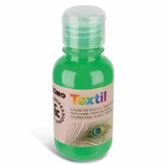 Акриловая краска для текстиля 125 мл 610 флуоресцентный зеленый Primo Италия