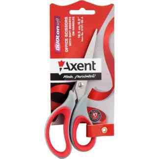 6101 Ножницы Duoton 16,5 см (красные) пл Axent