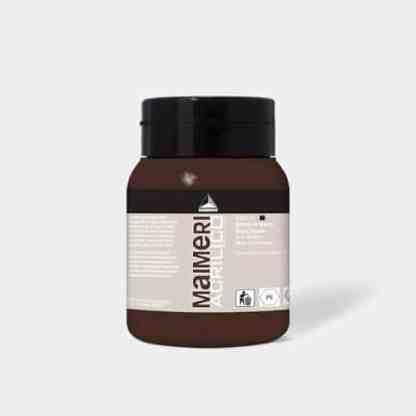 Акриловая краска Acrilico 500 мл 476 марс коричневый Maimeri Италия