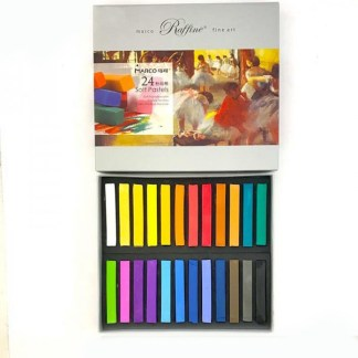 Набор сухой пастели 24 цвета Raffine fine art  Marco 7300-24CB