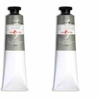 Масляная краска 180 мл 043 белила титаново-цинковые Van Pure