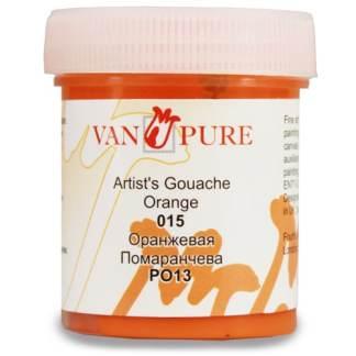 Гуашевая краска Van Pure 40 мл 015 оранжевая