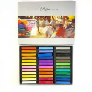 Набор сухой пастели 36 цветов Raffine fine art  Marco 7300-36CB