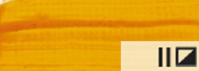 Акриловая краска 06 Желтый темный 100 мл Renesans Польша