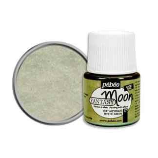 Краска лаковая Fantasy Moon 017 Зеленый мистический 45 мл Pebeo