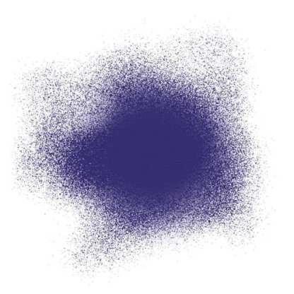 Акриловая аэрозольная краска 390 ультрамарин 200 мл флакон с распылителем Idea Spray Maimeri Италия
