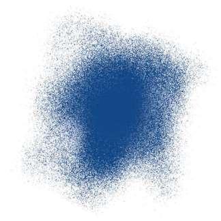 Акриловая аэрозольная краска 394 синий светлый стойкий 200 мл флакон с распылителем Idea Spray Maimeri Италия