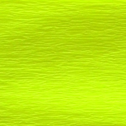 Бумага гофрированная 705400 Желтая флуоресцентная 20% 26,4 г/м.кв. 50х200 см (Т)