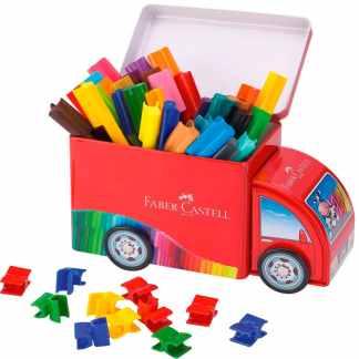 Подарочный набор фломастеров «Машинка» 33 цвета Faber-Castell 155533