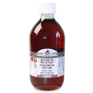 644 Мордан (микстион) масляный 500 мл вспомогательные материалы для золочения Idea Oro Maimeri Италия