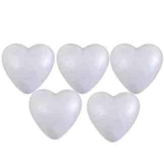 Заготовка пенопластовая «Сердце» 85 мм Santi Великобритания