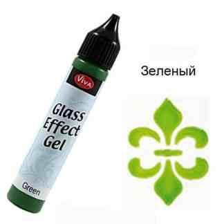 Контур-гель стеклоэффект 70001 Зеленый 25 мл Viva